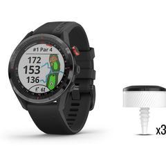 Garmin Approach S62 Bundle GPS Golf Watch - Black w/CT10 (3)