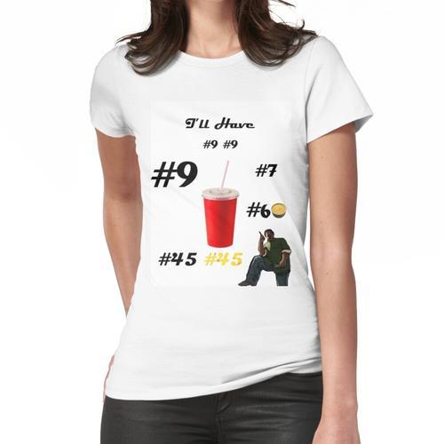 Großer Rauchbefehl Frauen T-Shirt