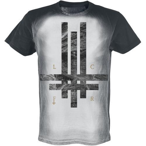 Behemoth LCFR Tri Cross Herren-T-Shirt - grau - Offizielles Merchandise