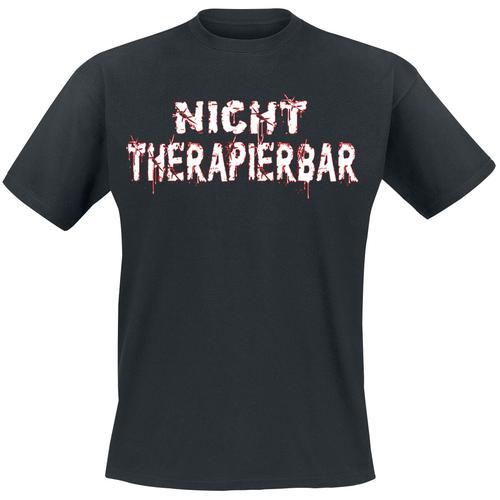 Nicht therapierbar Herren-T-Shirt - schwarz