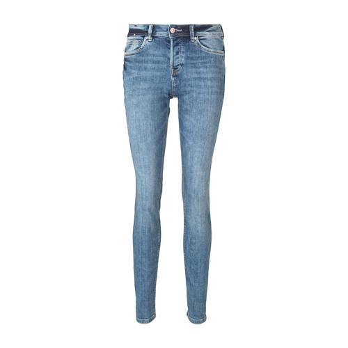 TOM TAILOR DENIM Damen Lynn Antifit Jeans, blau, Gr.28/32