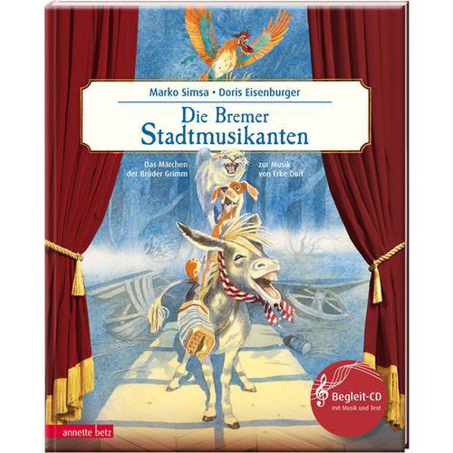 JAKO-O Die Bremer Stadtmusikanten – ein musikalisches Bilderbuch, bunt