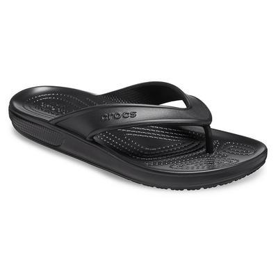 Crocs Black Classic Ii Flip Shoes