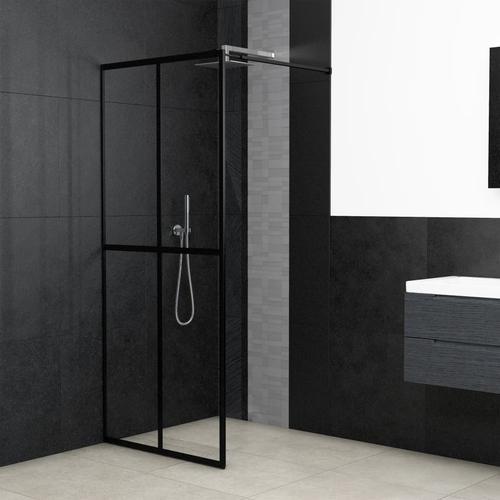 vidaXL Duschwand für Begehbare Dusche Sicherheitsglas 80×195 cm
