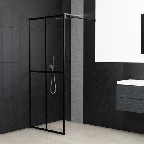 vidaXL Duschwand für Begehbare Dusche Sicherheitsglas 90×195 cm