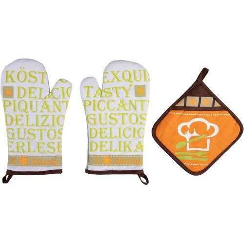 stuco Topfhandschuhe Gustoso bunt Topflappen und Topfhandschuh Kochen Backen Haushaltswaren