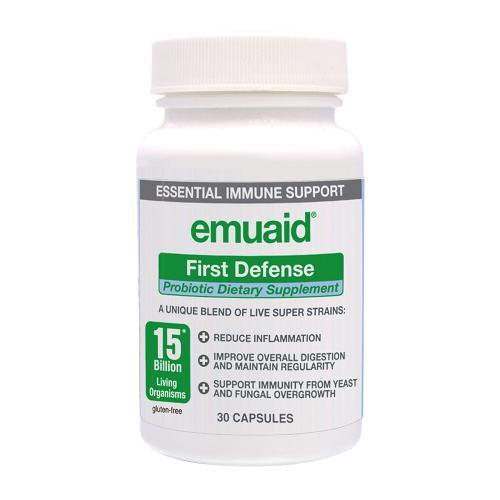 Emuaid First Defense Probiotische Kapseln - 30 Kapseln für einen Monat