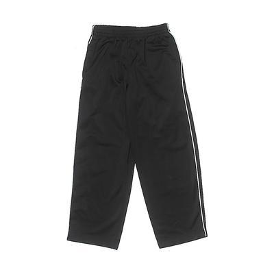 Track Pants: Black Sporting & Ac...