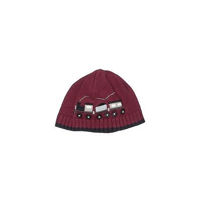 Gymboree Beanie Hat: Burgundy Accessories - Size 0-3 Month