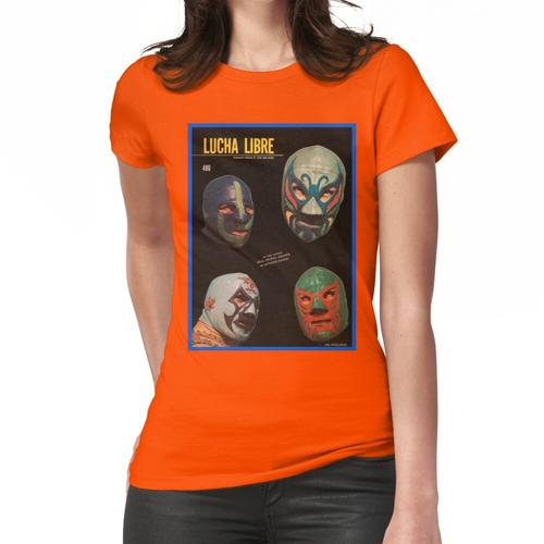 Mil Mascaras Cover Shot Frauen T-Shirt