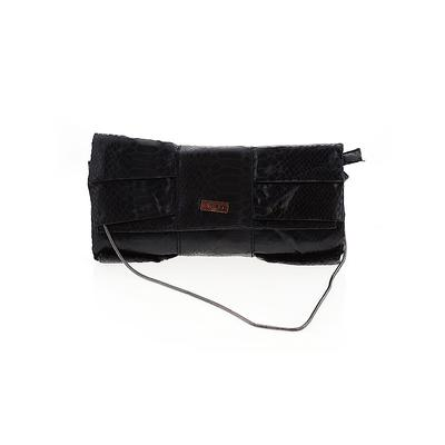 MGXX Clutch: Black Solid Bags