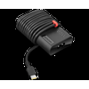 Lenovo ThinkPad 65W Slim AC Adapter The ThinkPad 65W Slim AC Adapter – USB Type-C is the new adapter designed with slimmer size and cable management. It is your perfect replacement or spare power adapter for your ThinkPad notebooks. To check if the charger is compatible with your system,...