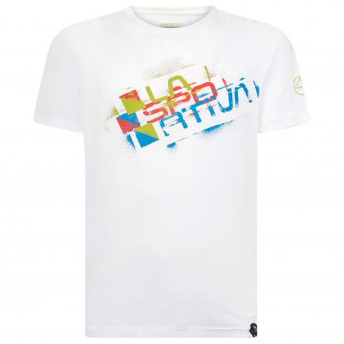 La Sportiva - Square Evo - T-Shirt Gr XL weiß