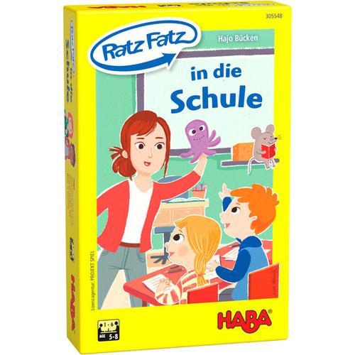 HABA Ratz Fatz in die Schule, bunt