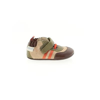 Robeez Booties: Tan Solid Shoes ...