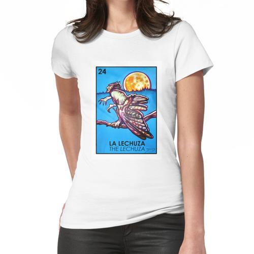 La Lechuza - Die Lechuza Loteria Frauen T-Shirt