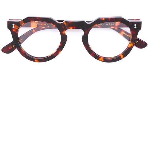 Lesca Brille mit runden Gläsern