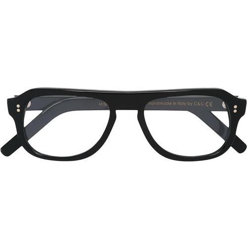 Cutler & Gross Brille mit rechteckigem Gestell