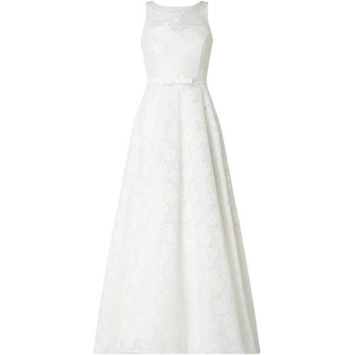 TROYDEN COLLECTION Brautkleid aus Spitze mit Zierschleife