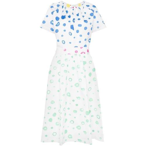 MIRA MIKATI Gepunktetes Kleid