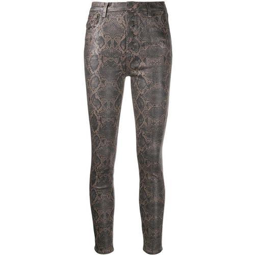 J Brand Beschichtete Skinny-Jeans