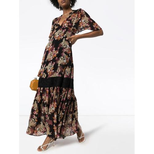 byTiMo Kleid mit Blumen-Print