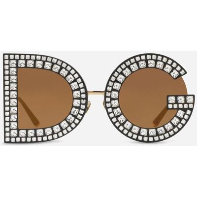 Dolce & Gabbana Dg Glitter Sunglasses