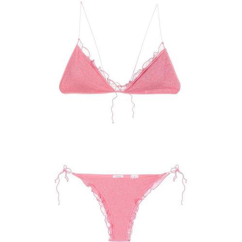 Oseree Bikini in Glitter-Optik