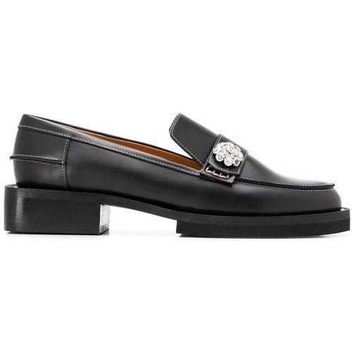 Ganni Verzierte Loafer