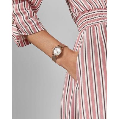 Ted Baker Uhr Mit Milanaise-armband Aus Mesh