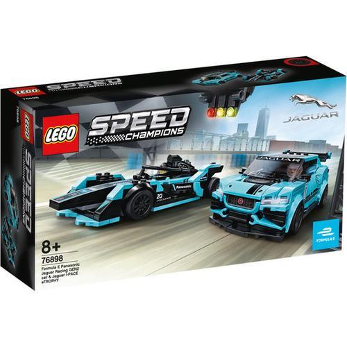 LEGO® 76898 Speed Champions E-Jaguar, bunt
