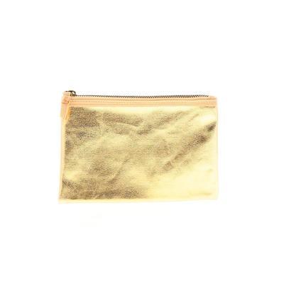 Clutch: Gold Animal Print Bags