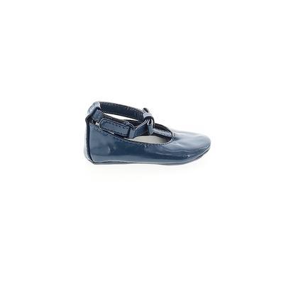 Gymboree Flats: Blue Solid Shoes...
