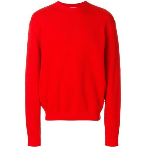 AMI Pullover mit rundem Ausschnitt