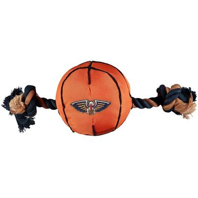 New Orleans Pelicans Basketball Rope Toy