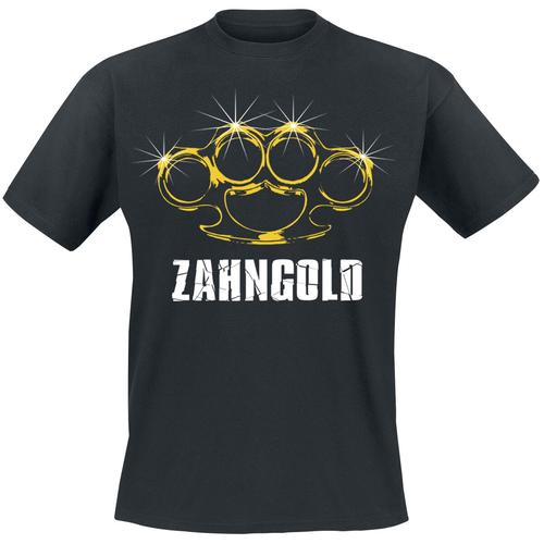 Zahngold Herren-T-Shirt - schwarz