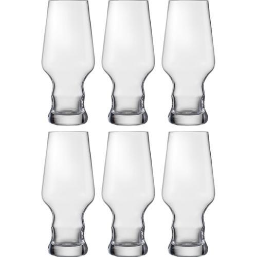 Eisch Bierglas Craft Beer Becher, (Set, 6 tlg.), bleifrei, 450 ml farblos Kristallgläser Gläser Glaswaren Haushaltswaren