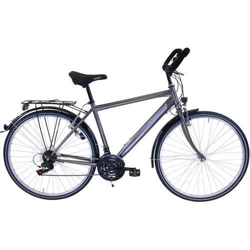 Performance Trekkingrad, 18 Gang, Shimano, ACERA RDM360 Schaltwerk, Kettenschaltung grau Trekkingräder Fahrräder Zubehör Trekkingrad