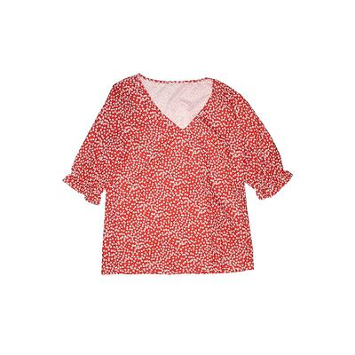 Bodysuit: Red Tops - Size Small