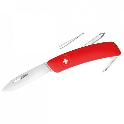 Swiza - Schweizer Messer D02 - Messer Gr 7,5 cm rot