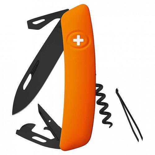 Swiza - Schweizer Messer D03 - Messer Gr 7,5 cm orange