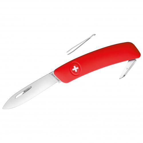 Swiza - Schweizer Messer D00 - Messer Gr 7,5 cm rot
