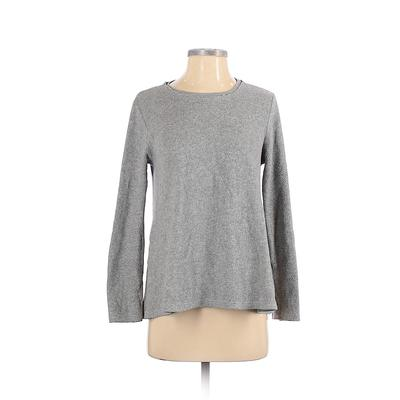 Project Social T Pullover Sweater: Gray Solid Tops - Size X-Small