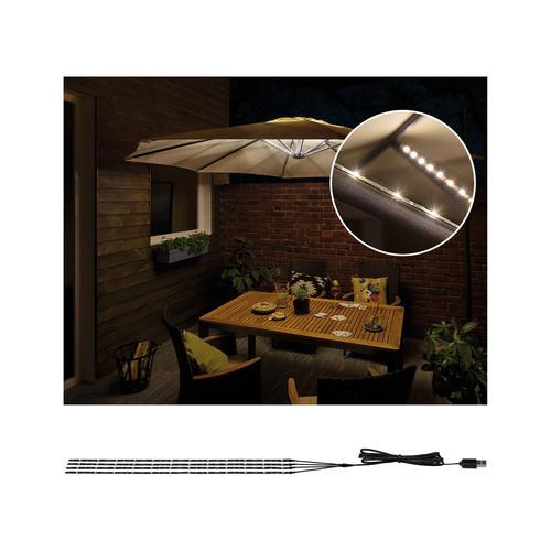 Paulmann Mobile Strip 'Parasol-Light' Schirmbeleuchtung 4er-Set 4 x 40 cm