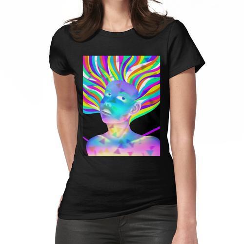 Phosphoreszierend Frauen T-Shirt