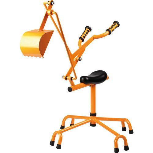 Sitzbagger Metall, orange