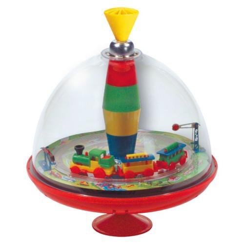 Eisenbahn-Kreisel mit Sound, 19 cm