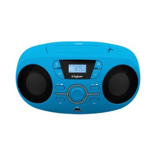 Tragbares CD/Radio CD61 USB, blau