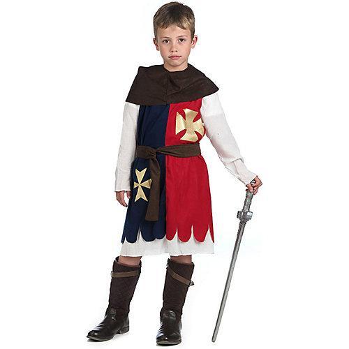 Kostüm Kreuzritter blau/rot Jungen Kinder