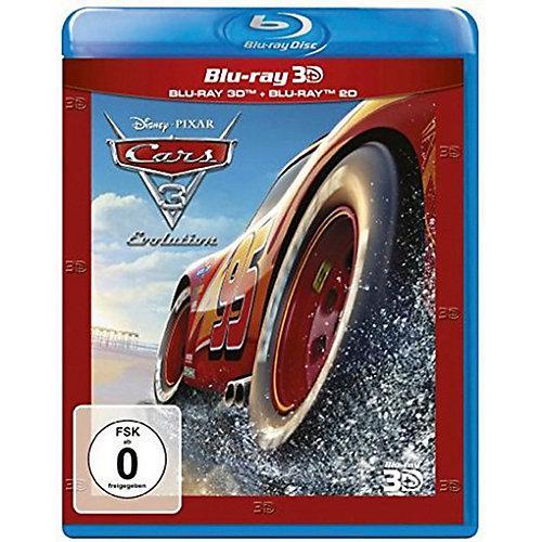 BLU-RAY Cars 3 - Evolution 3D (BluRay 3D + BluRay) Hörbuch